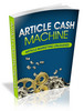 Thumbnail Article Cash Machine eBook PLR/RS
