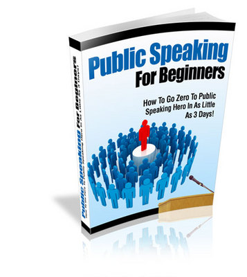 Product picture Public Speaking For Beginners