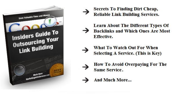 Product picture *HOT* Insiders Guide To Outsourcing Your Backlink Building